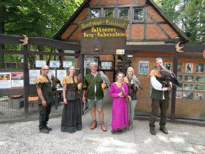 Falknerei Burg Rabenstein